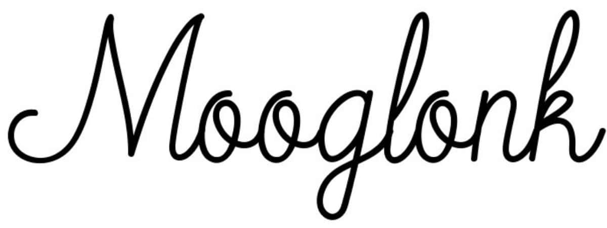 Tipografías bonitas: Mooglank