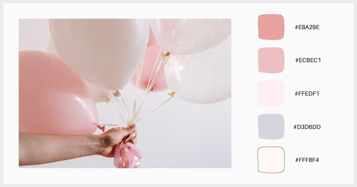 paleta colores pastel infantil