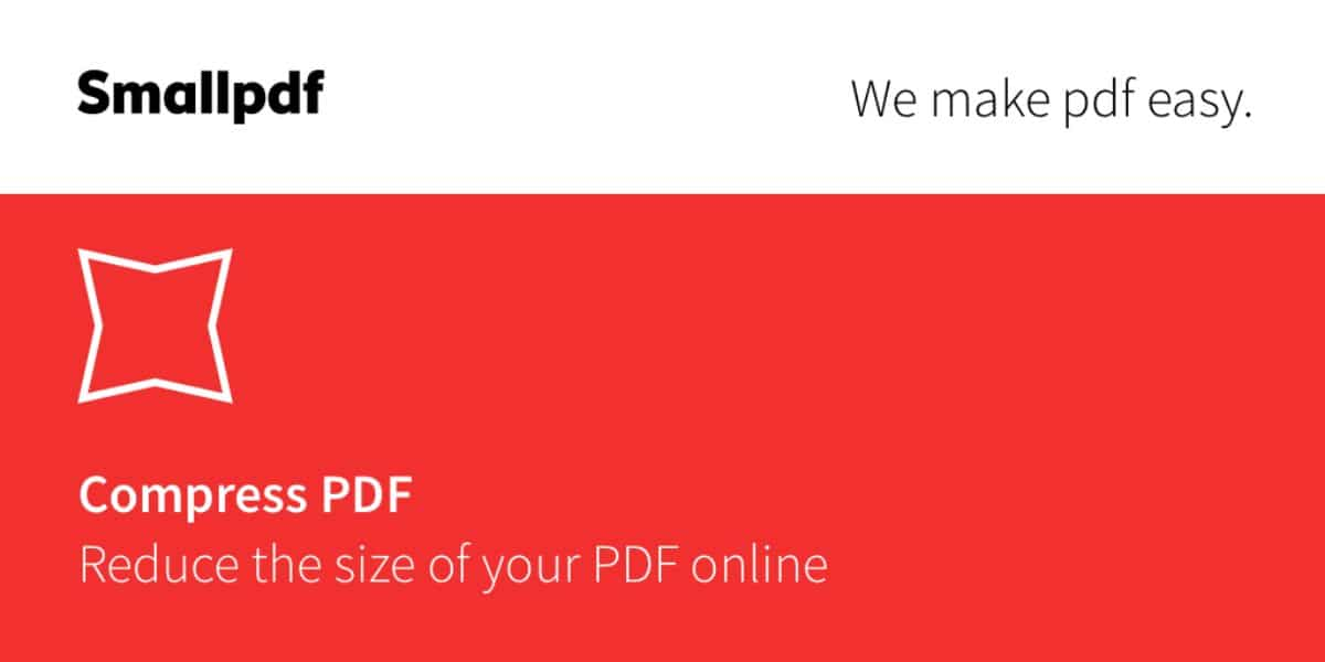 comprimir pdf SmallPDF