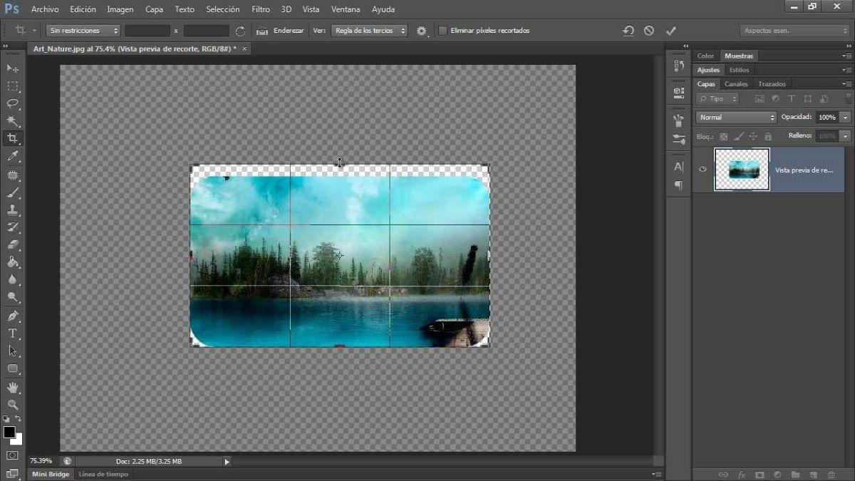 Cómo suavizar bordes con Photoshop