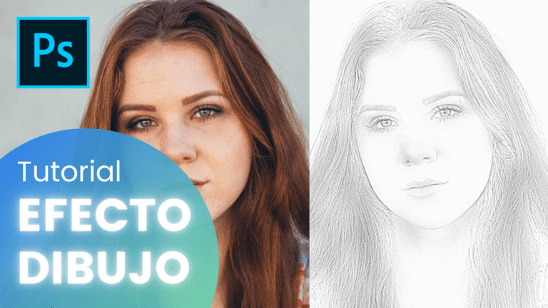 Cómo hacer el efecto dibujo en Photoshop