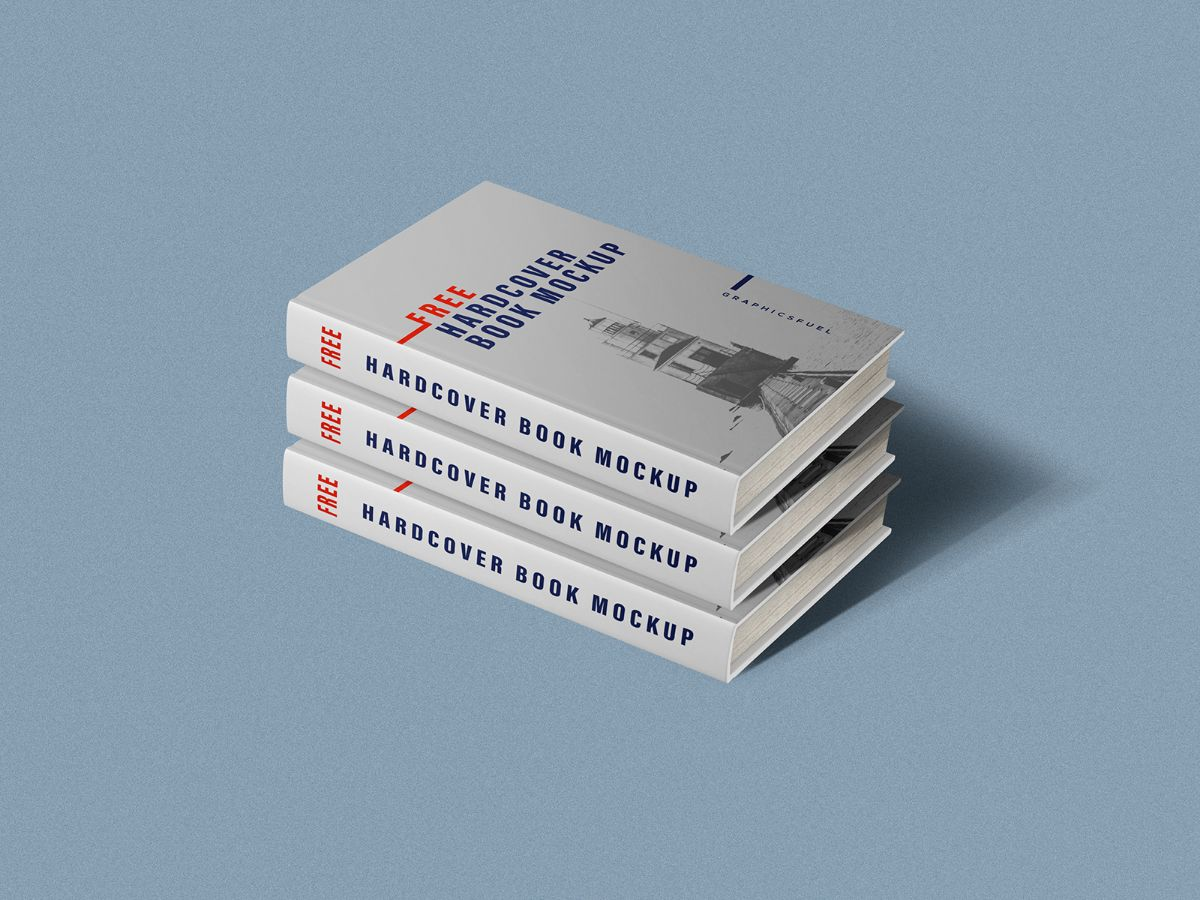 Softcover Books Mockup