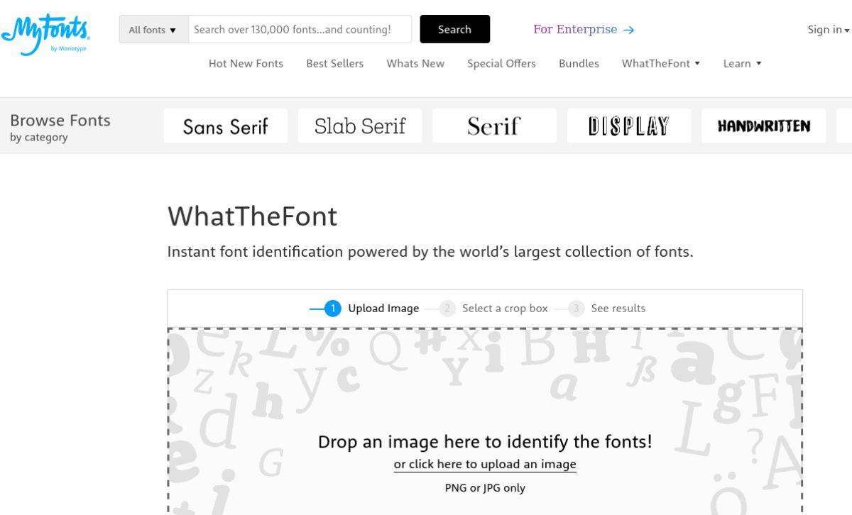 que fuente es My Fonts