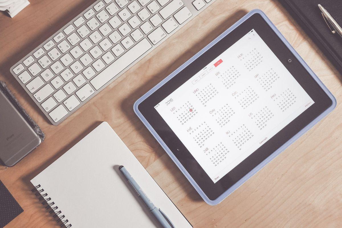 Cómo usar los calendarios impresos para organizarte bien