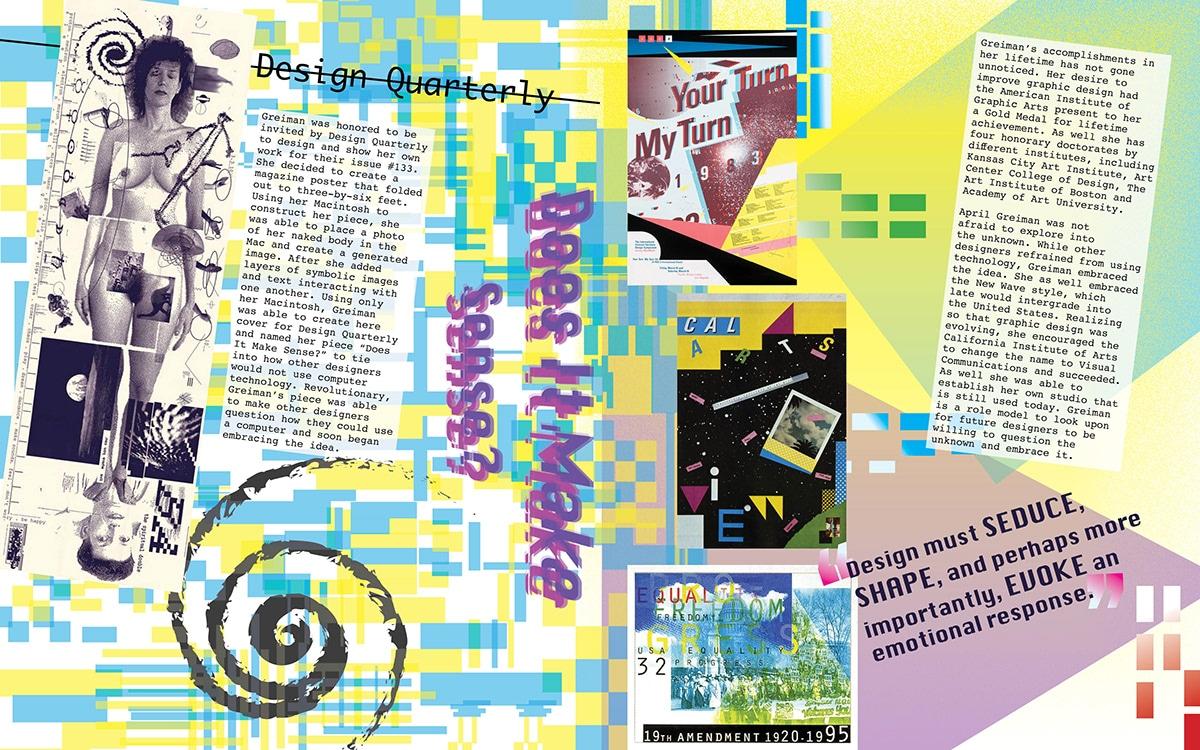 El diseño gráfico en la década de los 80