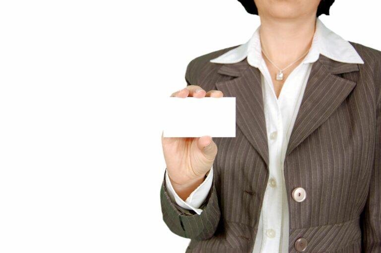 Cómo hacer tarjetas de visita en Word